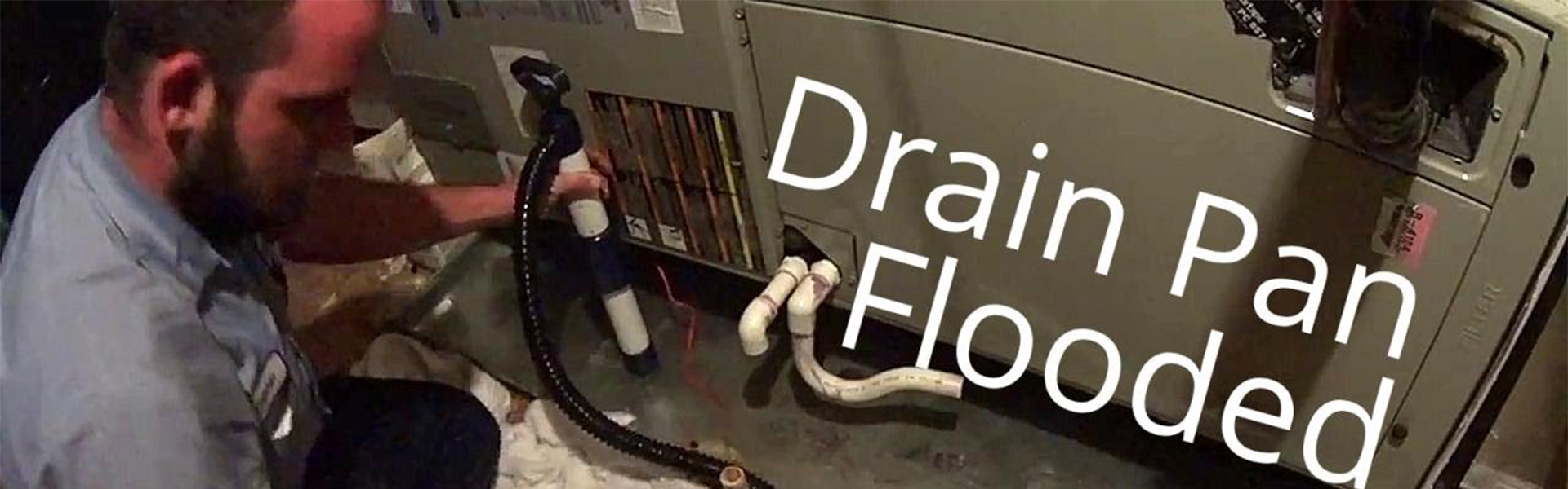 HVAC Leak Cleanup